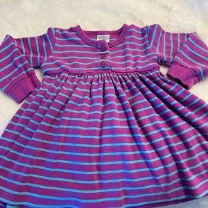 Hannah Anderson Girls size 80 cm striped dress